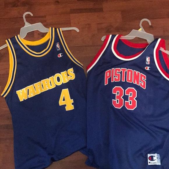 size 40 429be 4fa1d 2 vintage basketball jerseys